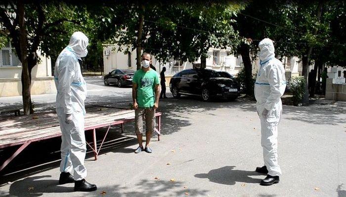 В Мингячевире задержан больной коронавирусом, покинувший место жительства