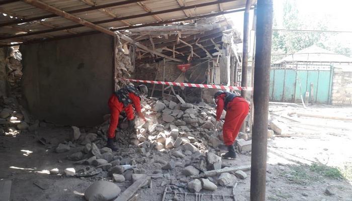 В селах Товузского района обнаружили остатки снарядов