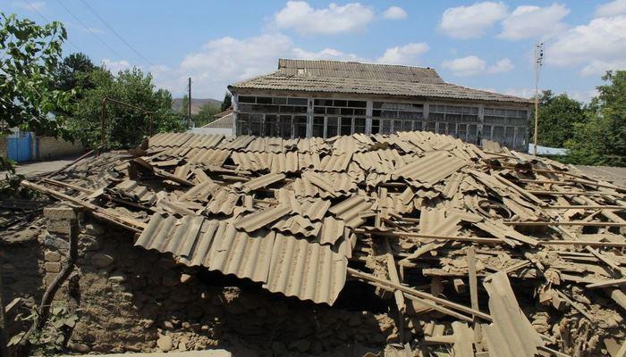 В Товузе оценивается ущерб, причиненный в результате обстрела ВС Армении