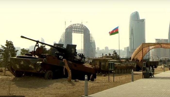 Vətən müharibəsini göz önündə canlandıran Hərbi Qənimətlər Parkı