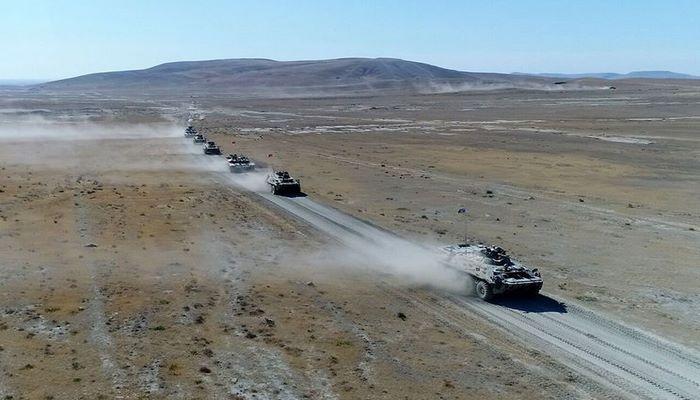 Выполнен очередной этап азербайджано-турецких совместных широкомасштабных тактических учений