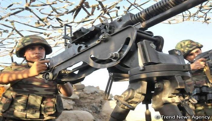 ВС Армении продолжают обстреливать азербайджанские позиции из пулеметов и снайперских винтовок