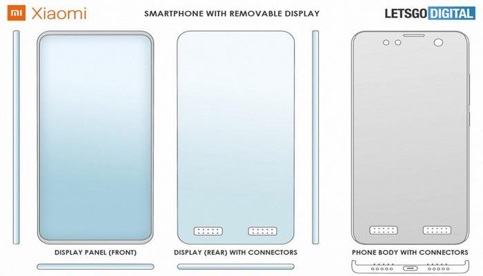 Xiaomi çıxarıla bilən ekranı olan  smartfon buraxacaq