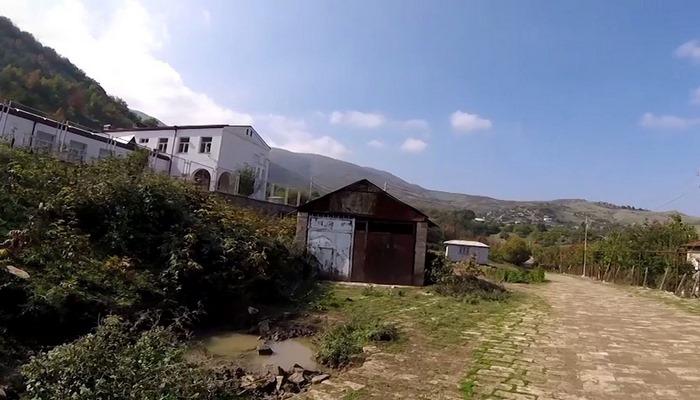 Xocavənd rayonunun işğaldan azad olunan kəndlərinin videogörüntüsü