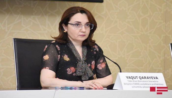 """Yaqut Qarayeva: """"Reanimasiyada olan çarpayıların boşalması müşahidə olunur"""""""