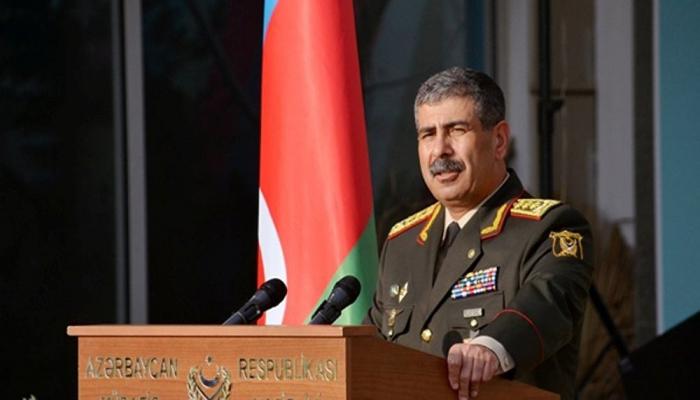 Zakir Həsənov Rusiya sülhməramlılarının yeni komandanı ilə görüşüb