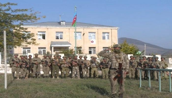 Zəngilan şəhərinə Azərbaycan bayrağı sancıldı
