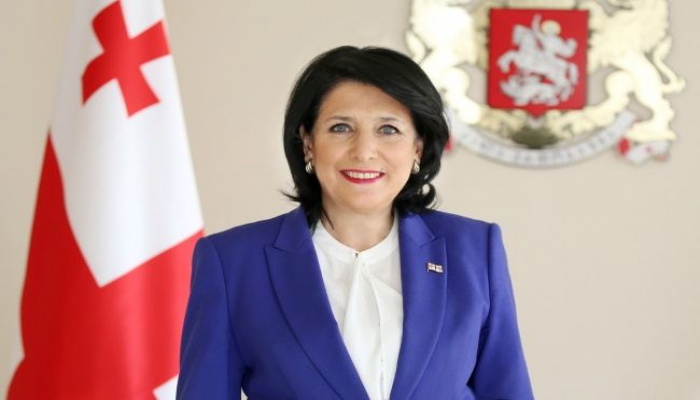Президент Грузии поздравила Первого вице-президента Мехрибан Алиеву