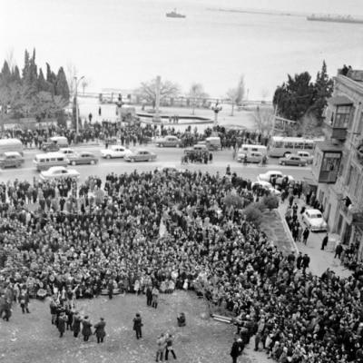 Bakıdan tarixi Novruz şəkilləri