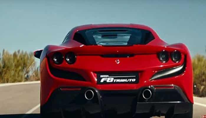 Ferrari опубликовала видео с демонстрацией нового спорткара F8 Tributo