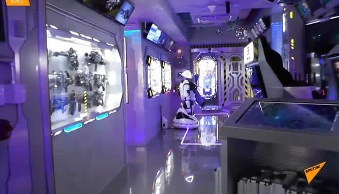 В Крыму открыли отель, стилизованный под космический корабль