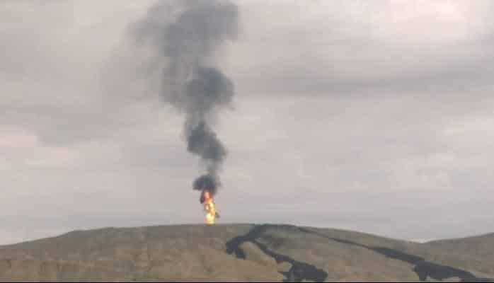 Bakıda dünyanın 2-ci ən böyük palçıq vulkanı püskürdü