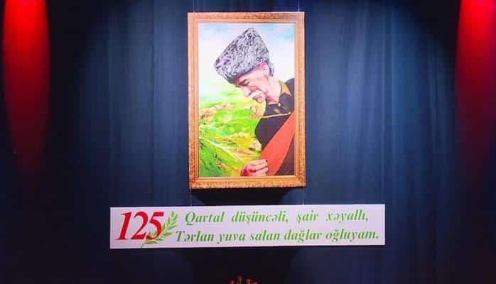 Gəncədə aşıq Şəmşirin 125 illiyi qeyd olunub