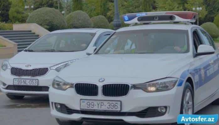 Azərbaycanın yol polisi ilə bağlı bu video Gürcüstanda rekord qırdı