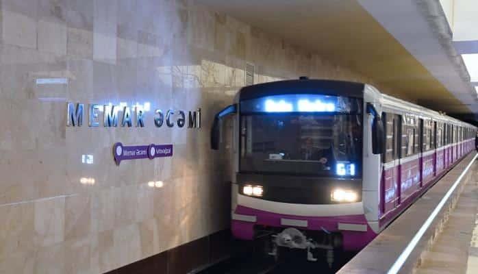 """Bakı metrosu """"Ginnesin Rekordlar Kitabı""""nda"""