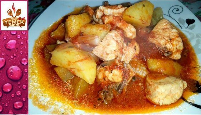 Toyuq ətindən dadlı yemək resepti