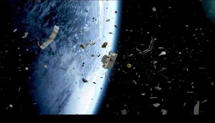 Kosmosun 60 ildə çirklənməsi 1 dəqiqədə göstərilib